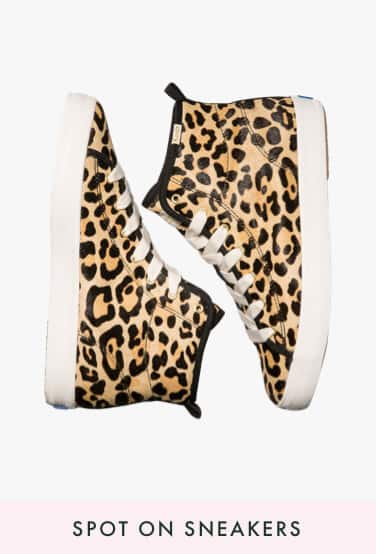 spot on sneakers
