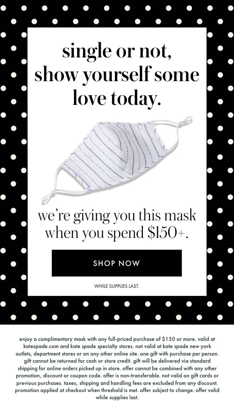 single or not, show yourself some 